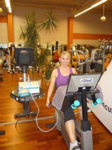 AIRNERGY Anwendung im Fitnessstudio
