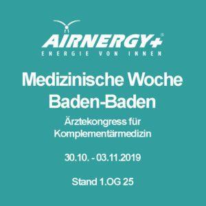 AIRNERGY at the 53rd Medical Week in Baden-Baden
