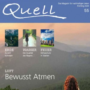 Current report on forest bathing with AIRNERGY in the Quell magazine