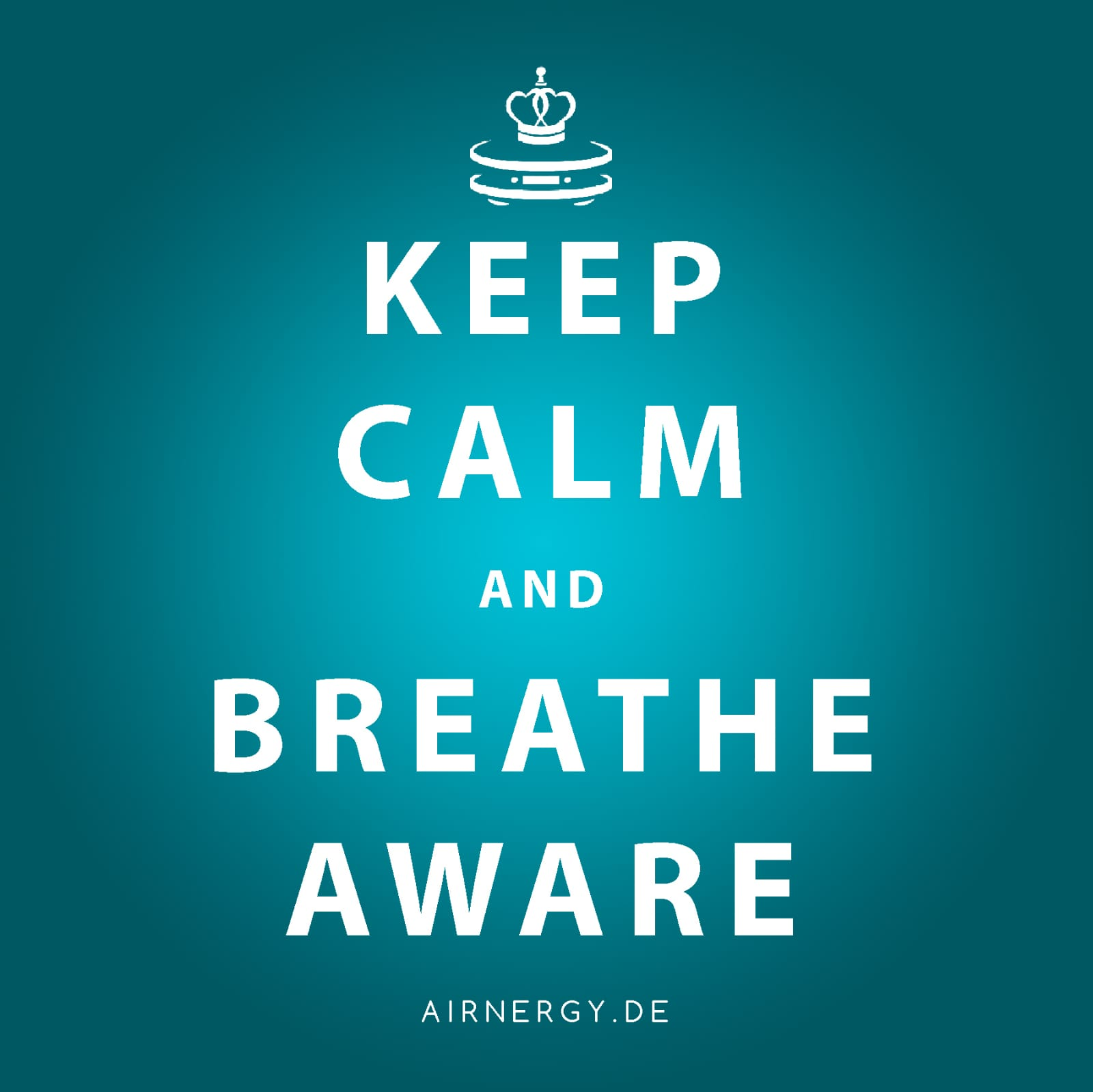 AIRNERGY Keep Calm and Breath Aware