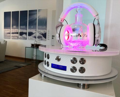 Airnergy AvantGarde mit Stream HS für den Einsatz im Beauty und Wellness Bereich