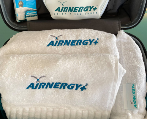 AIRNERGY Little Atmos und Zubehör im Koffer