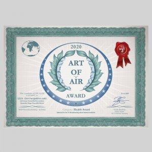 Art of Air Award - Health Award