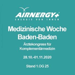 54. Medizinische Woche Baden-Baden vom 28.10.-1.11.2020