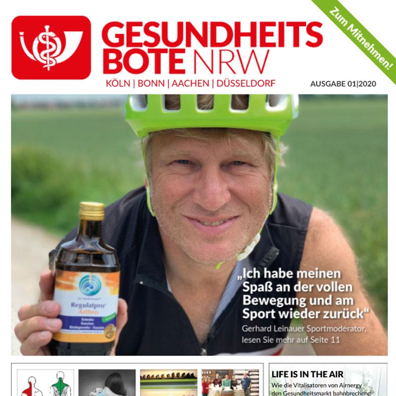 Airnergy berichtet im Gesundheitsbote NRW