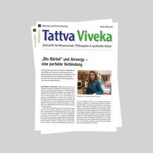 Tattva Viveka Bio Bärbel und AIRNERGY Sonderdruck